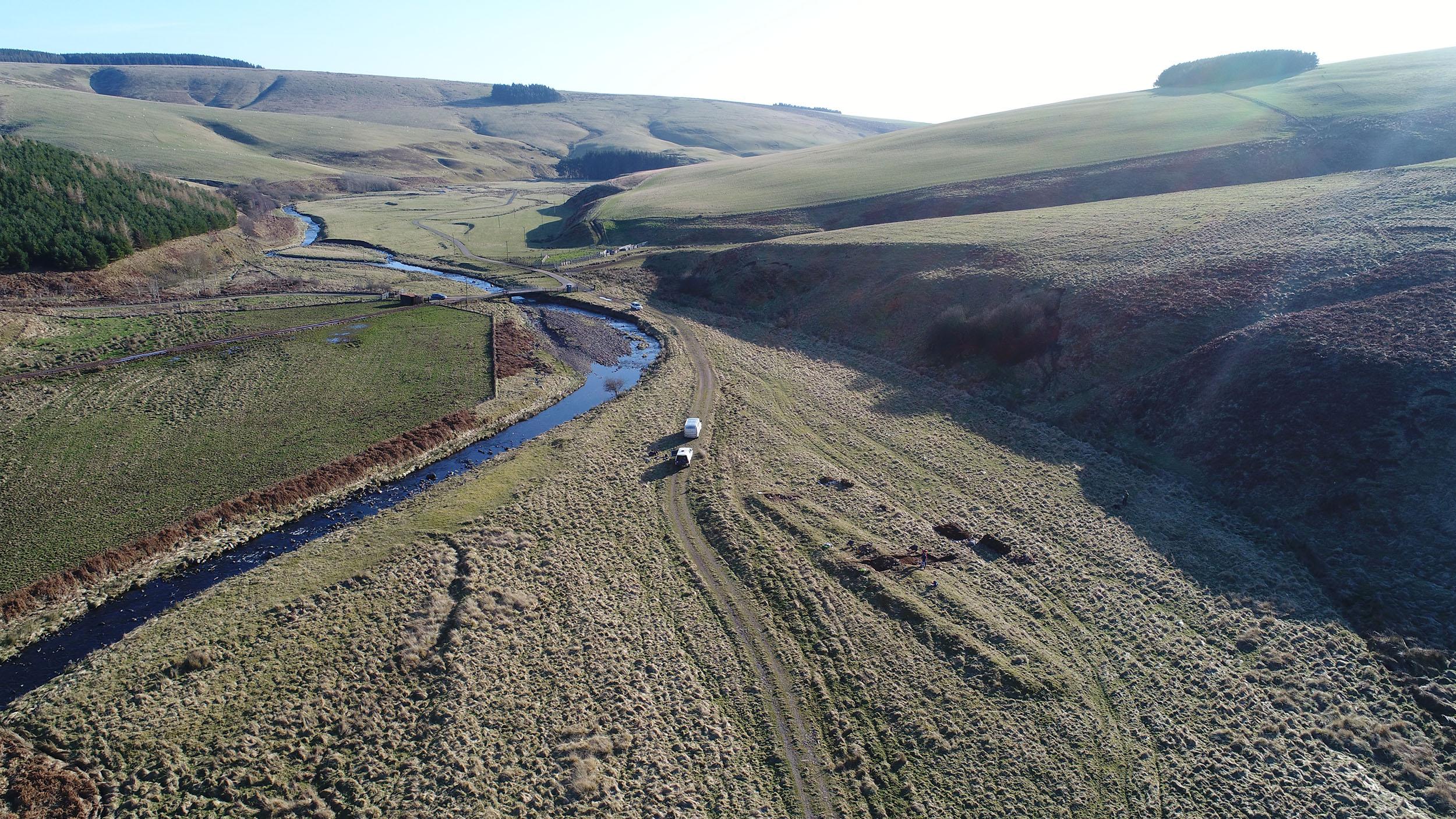Bothwell Water dig Feb 2020