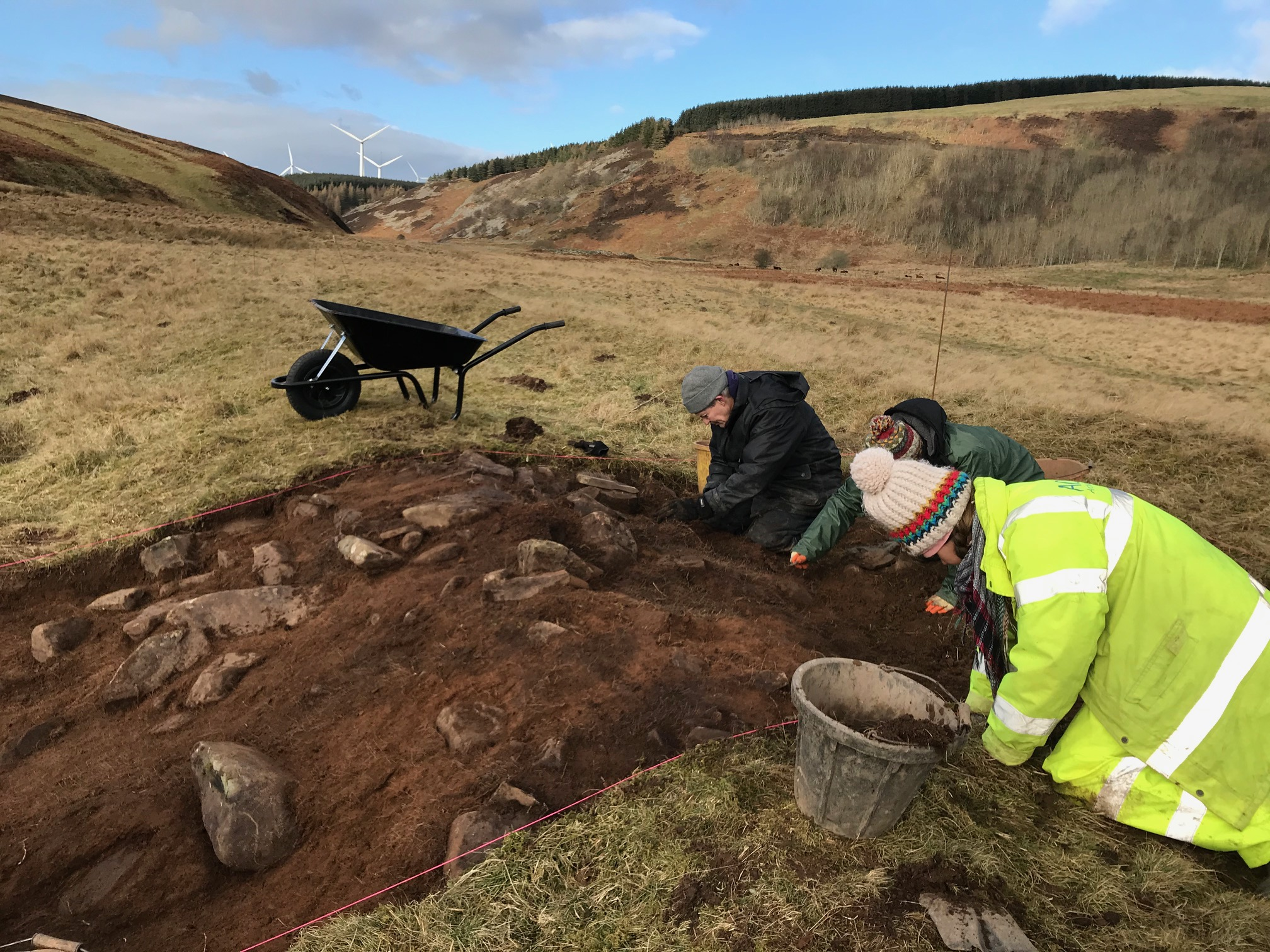 A Medieval Sheepcote in the Bothwell Water Valley?