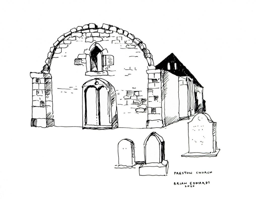 Preston Church by Brian Edwards.