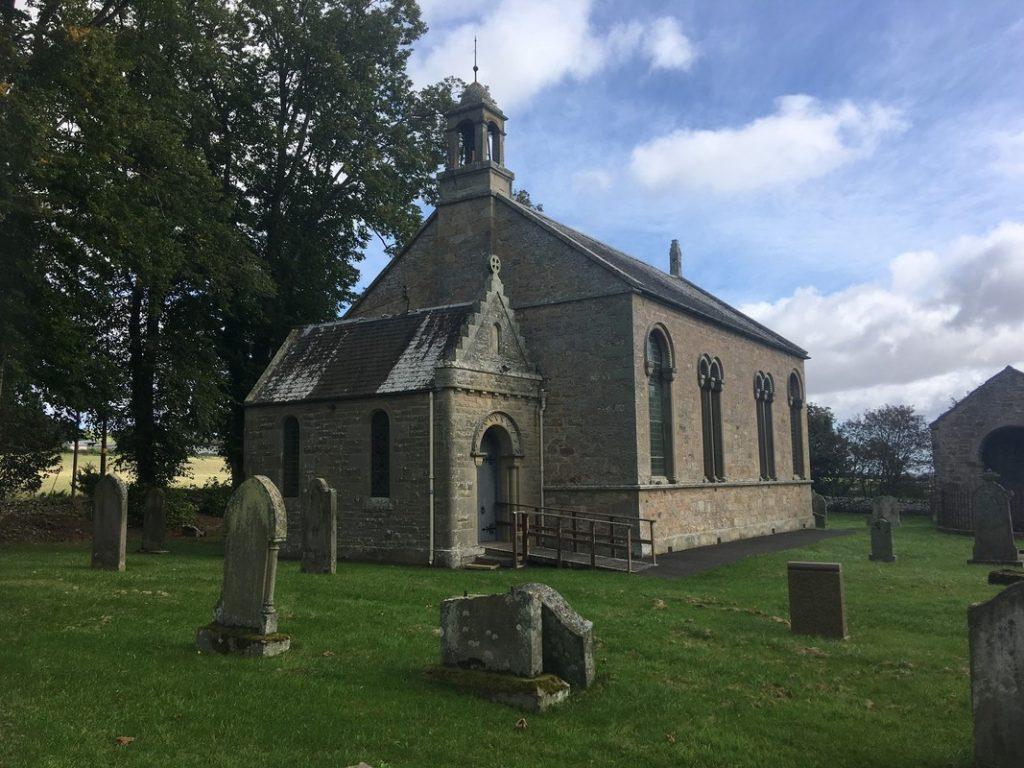 Bonkyl Churchyard.