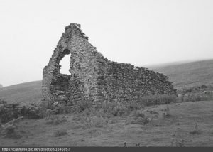 The ruins of Penshiel Grange.