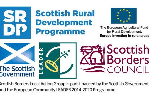 Scottish Borders Action Group logos