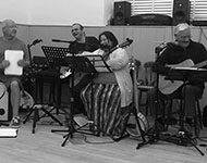 Barnstorm performing a live set.