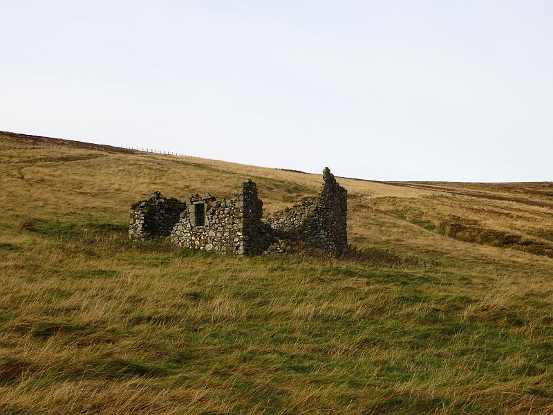 Ruined farmstead at Pensheil