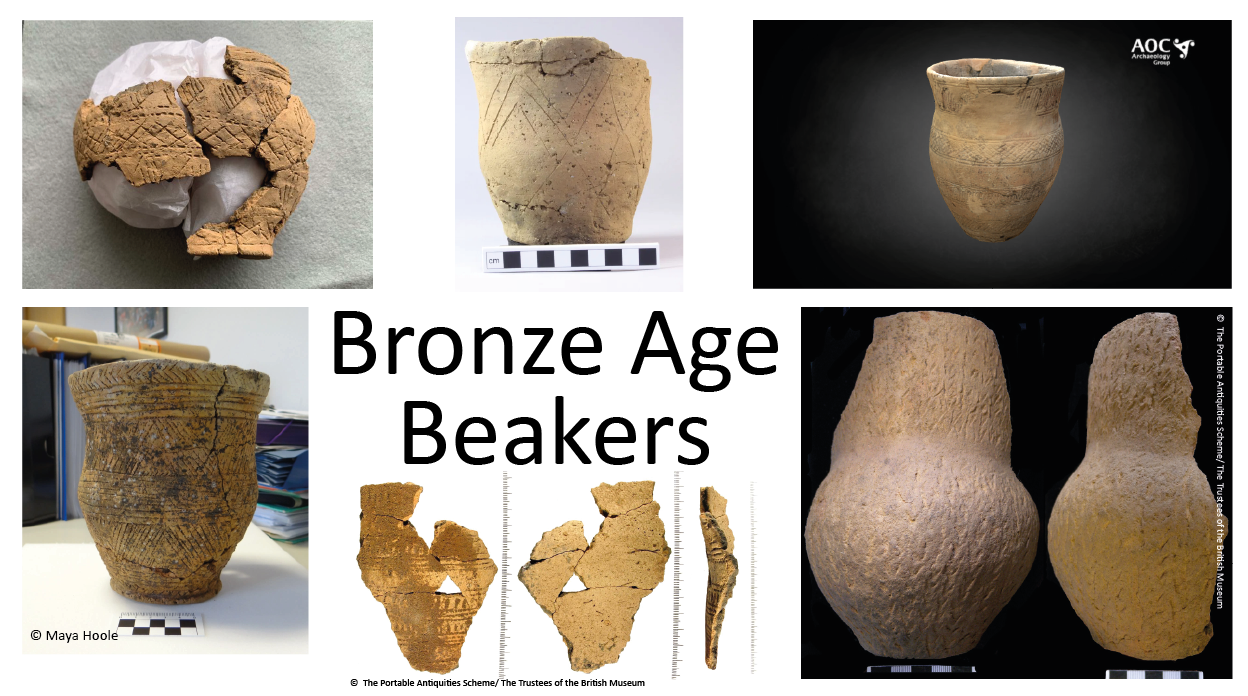 A selection of images of beakers, for use in class